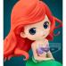 CM-35488 Disney Characters Q Posket PVC Figure The Little Mermaid Ariel