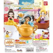 CM-46717 Disney Princesses Capchara Heroine Doll Stories 500y