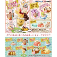 SR-15192 Re-Ment Gudetama Sweets Figures Blind Box Trading Figures