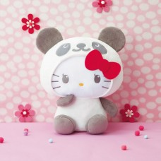 AMU-PRZ10373 Panda Hello Kitty Super BIG Plush