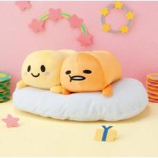 AMU-PRZ9142 Furyu Sanrio Gudetama and Gyudechama  Big Plush Doll